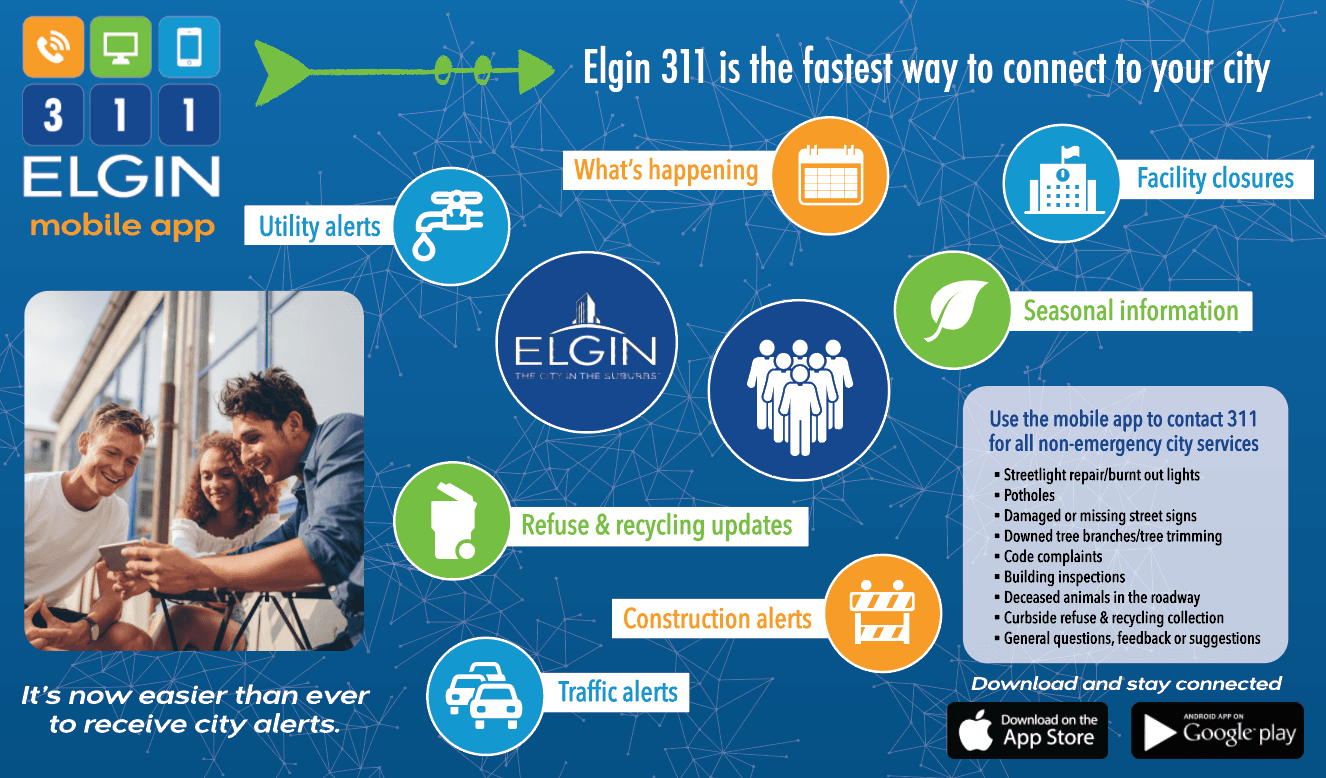 Download Elgin 311 mobile app