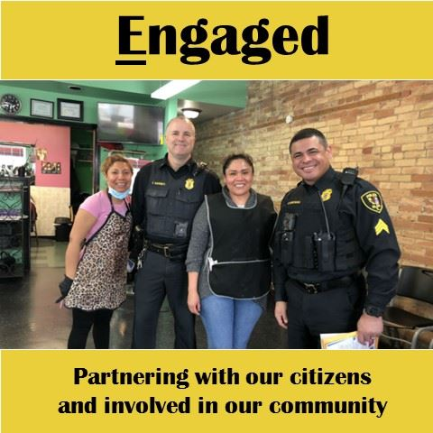 EPD Engaged - Partnering with out citizens and involved in our community