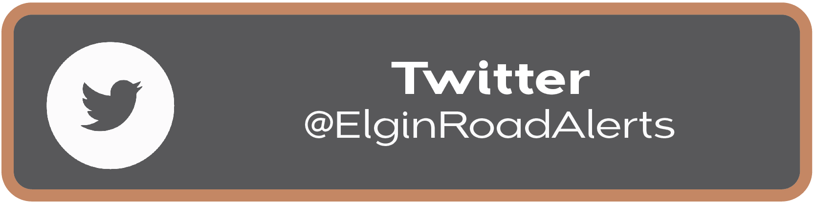 Button to click to view construction updates on Elgin Road Alerts twitter handle