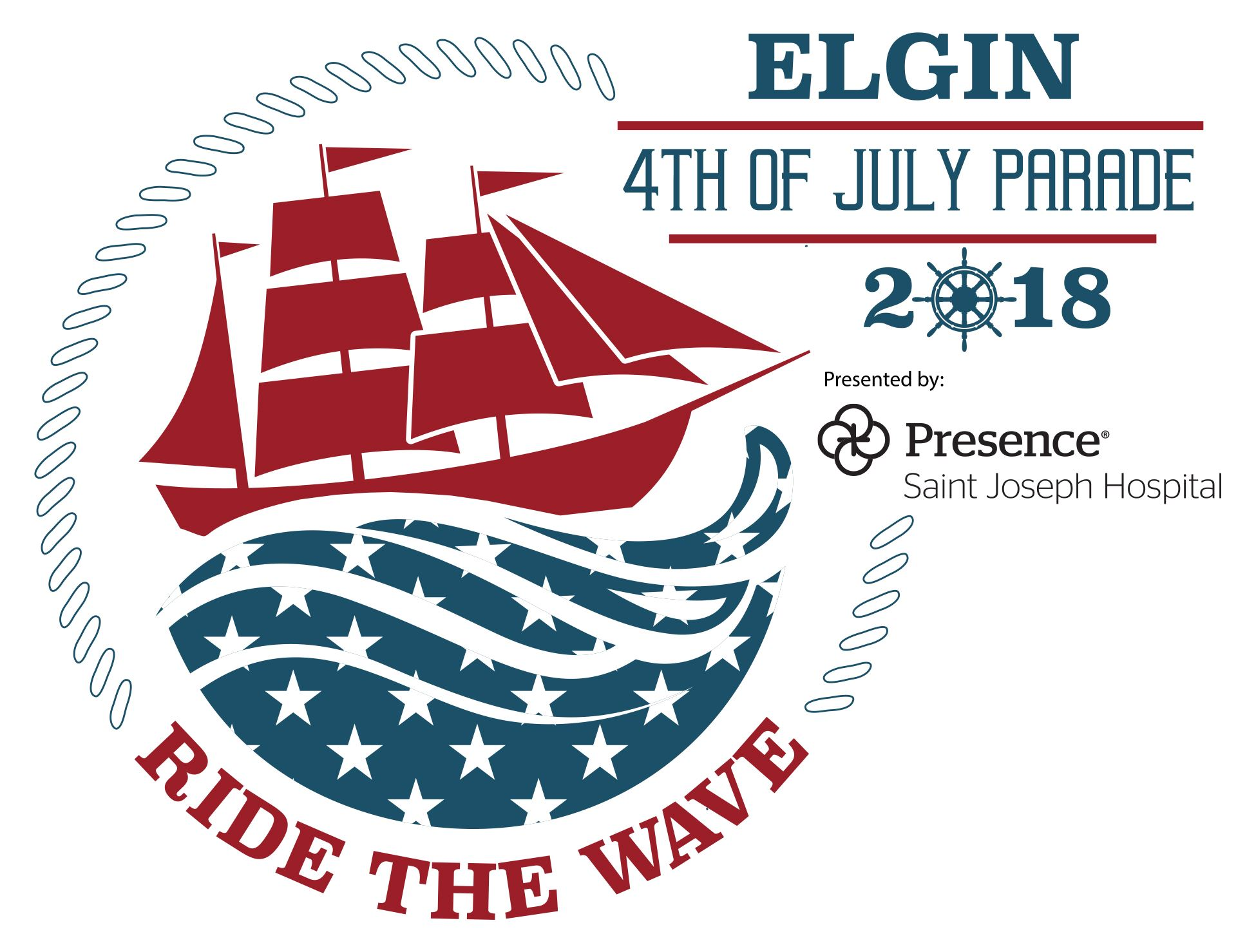 2018 Fourth of July Parade Logo