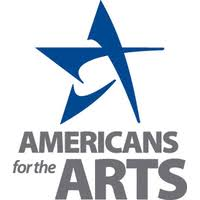 Americans for the Arts logo- blue star