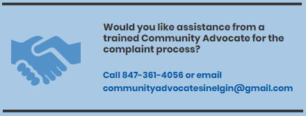 Complaint Assistance Opens in new window