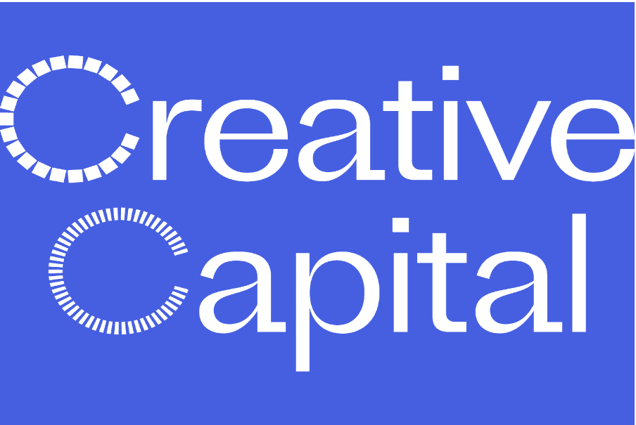 Creative Capital logo. Purple background and white text Opens in new window