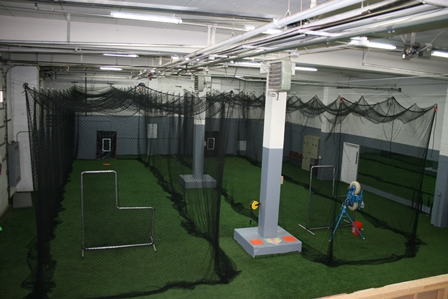 Batting Tunnels with pitching machines