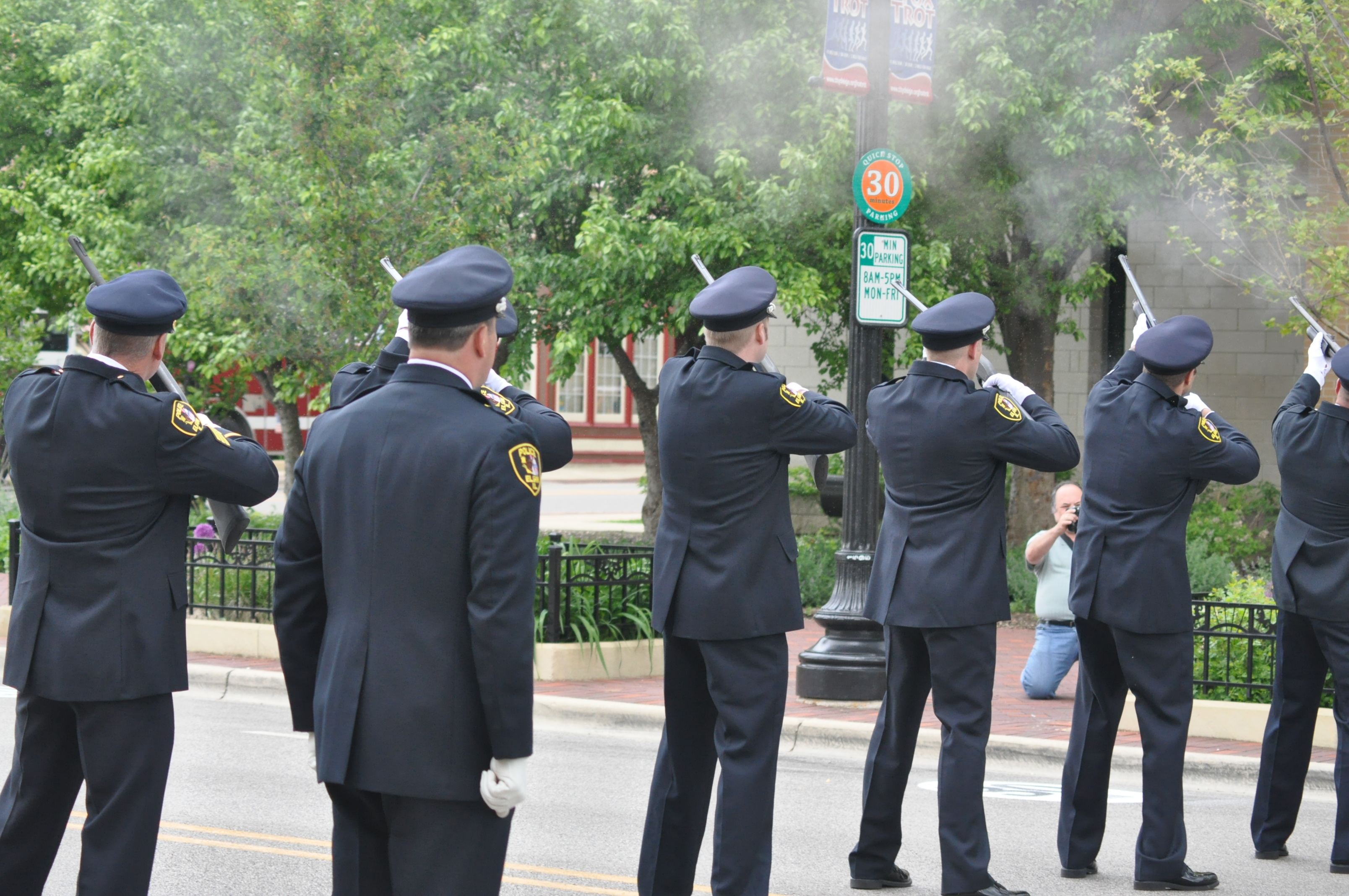 Elgin Police Memorial Ceremony - 20122