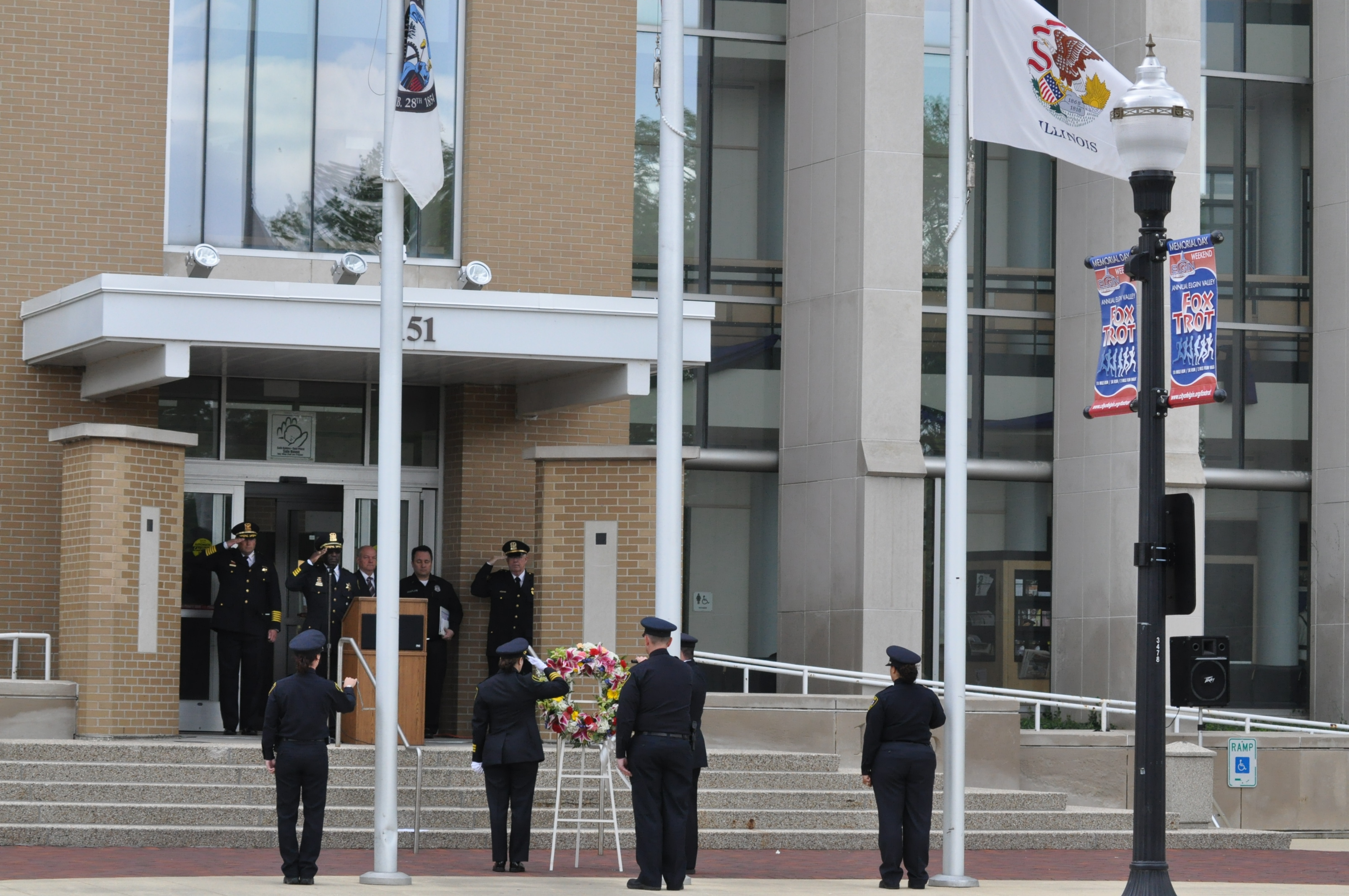 Elgin Police Memorial Ceremony - 2012